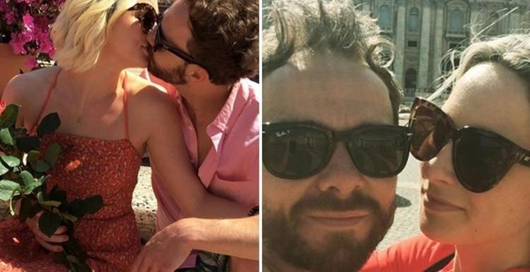 Coronation Street's Jack P. Shepherd kisses girlfriend Hanni Treweek as their romance heats up on trip to Rome