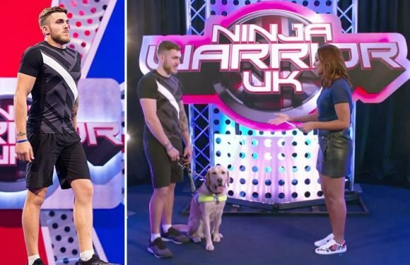Ninja Warrior's first ever blind contestant is also London 2012 Paralympian Dan Powell
