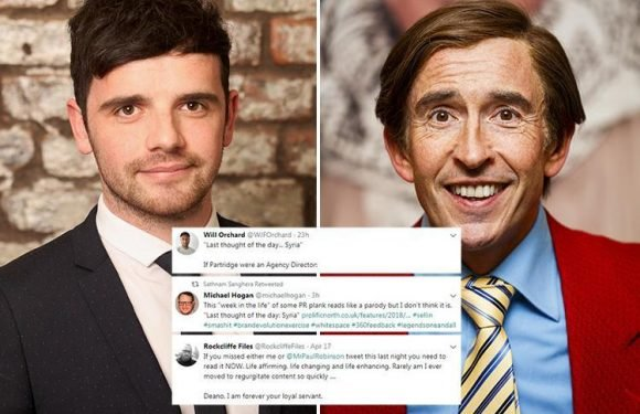 PR director compared to Alan Partridge after his cringeworthy 'week in the life' article becomes viral joke