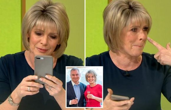 Ruth Langsford tears up reading her OWN 'love letter' to husband Eamonn Holmes on Loose Women – and he hasn't even replied
