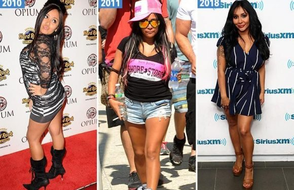 The incredible style transformation of Jersey Shore's Snooki after losing over three stone and undergoing a glam makeover after becoming a mum