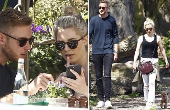 Mollie King spotted with new boyfriend Stuart Broad for the first time on romantic lunch date in London