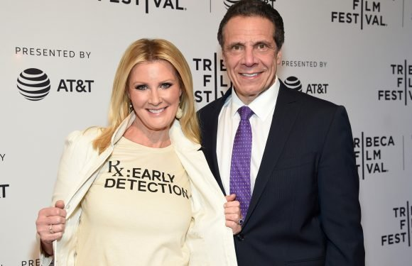 Andrew Cuomo and Sandra Lee share cute moment at doc premiere