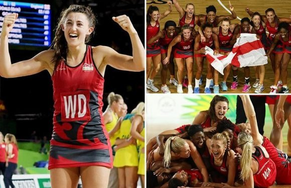 England's netball team win gold at Commonwealth Games beating hosts Australia in historic match