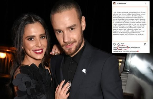 Cheryl likes uplifting post about 'embracing change, trusting and letting go' while on holiday with Liam Payne