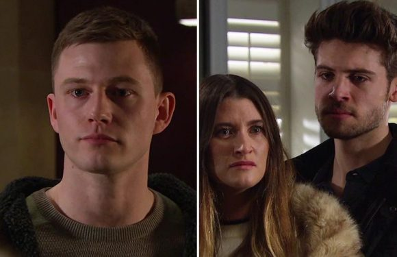 Emmerdale fans sickened as drug dealer Simon returns to threaten Joe Tate and Debbie Dingle