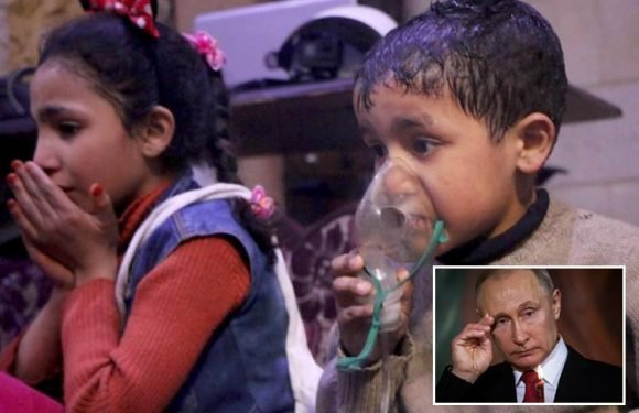 Russia claims Syria chemical attack was staged by BRITAIN and insists it had 'proof'