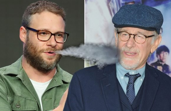 Seth Rogen blames marijuana for not being cast in Spielberg films