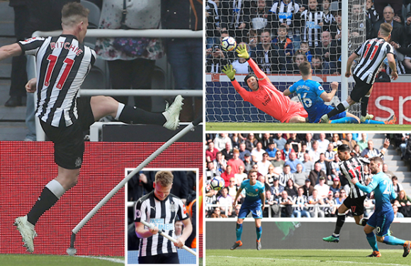 Newcastle 2 Arsenal 1: Matt Ritchie all-but secures Toon's Premier League status with second-half winner