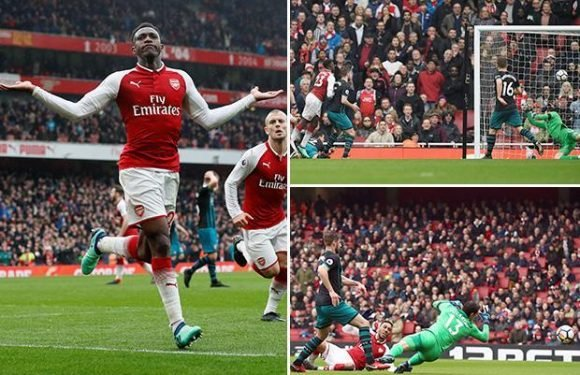 Arsenal 3 Southampton 2: Danny Welbeck scores twice and puts in a contender for miss of the season as Saints give Gunners real scare