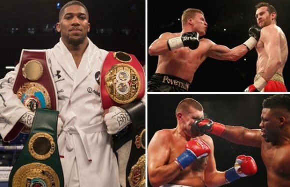 Anthony Joshua reveals he could face Alexander Povetkin or Jarrell Miller before heavyweight rival Deontay Wilder