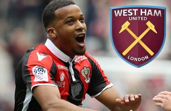 West Ham want OGC Nice's Alassane Plea but will have to fork over £25million for his signature