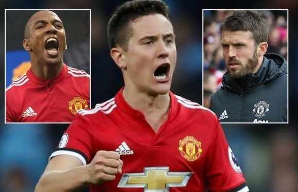 Manchester United star Ander Herrera reveals rallying call from Ashley Young and Michael Carrick inspired comeback at Man City