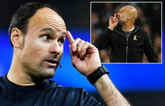 Man City vs Liverpool referee Antonio Mateu Lahoz: He winks for the cameras, is on first name terms with players is loved by Jose and loathed by Pep… and he's heaing to the World Cup
