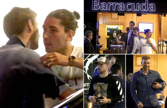 Arsenal stars head to casino for team bonding session to help save their faltering season