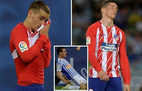 Real Sociedad 3 Atletico Madrid 0: Substitute Juanmi bags a brace as Diego Simeone's side throw away chance to move clear of Real Madrid