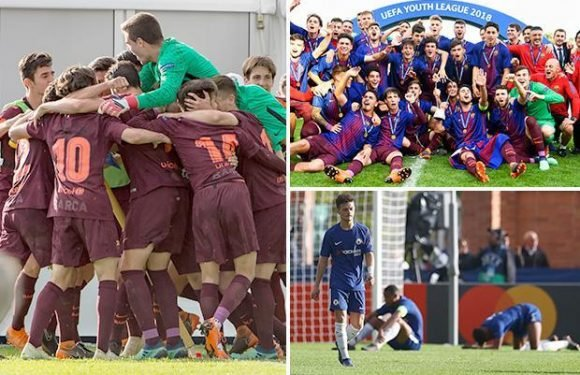 Chelsea 0 Barcelona 3: Alejandro Marques double and late strike from Abel Ruiz seals Uefa Youth League triumph against the Blues