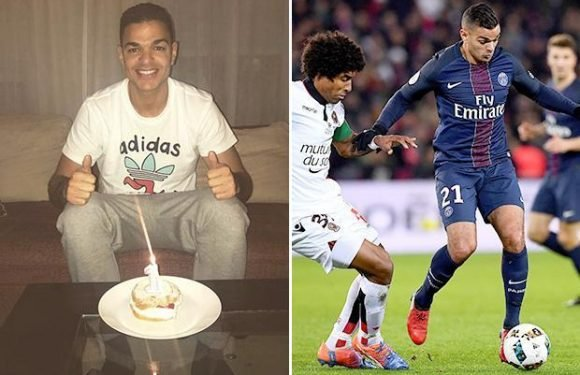 PSG flop Hatem Ben Arfa 'celebrates' one year out of Unai Emery's side with epic Instagram post