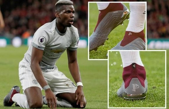 Paul Pogba debuts custom-made 'PP' Adidas Predator boots for Bournemouth clash