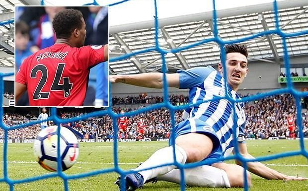 Brighton 1 Huddersfield 1: Steve Mounie cancels out Jonas Lossl own goal as points shared at the Amex