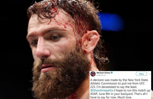 UFC 223: Michael Chiesa vs Anthony Pettis cancelled by Dana White after Conor McGregor and Artem Lobov rampage as fight with Alex Caceres