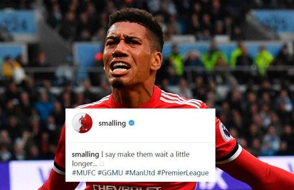 Manchester United star Chris Smalling takes dig at Manchester City after dramatic Derby win
