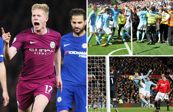 Man City win Premier League: Five key games that helped lead Pep Guardiola's side to the title