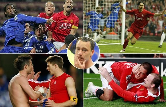 Liverpool vs Manchester City: From Luis Garcia's 'Ghost Goal' to John Terry's tears, the history of all-English Champions League knockout clashes