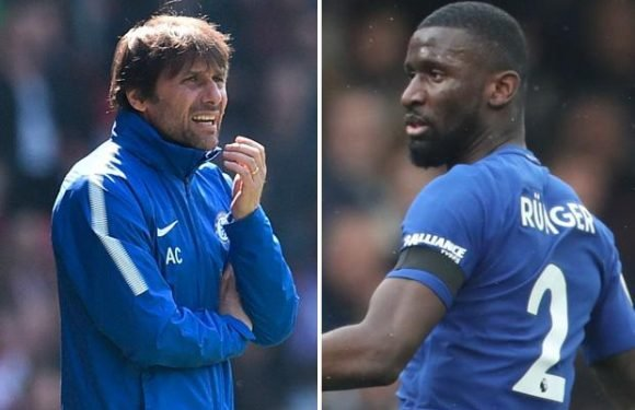 Antonio Conte claims Antonio Rudiger dropped for Chelsea's win over Southampton for 'tactical' reasons… but fans don't believe him