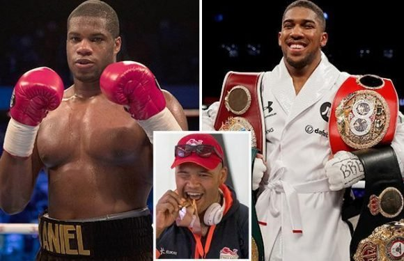 Frazer Clarke laughs off talk that Anthony Joshua was floored by heavyweight kid Daniel Dubois during sparring session