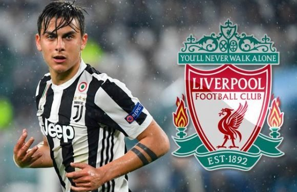 Liverpool want £90million-rated Juventus forward Paulo Dybala as Philippe Coutinho replacement