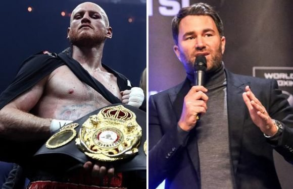 Eddie Hearn says World Boxing Super Series organisers 'are asking people to step in' for George Groves