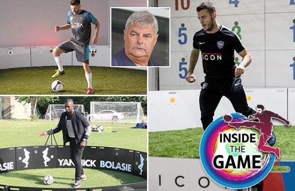 Eddie Mitchell is changing the face of football with Elite Skills Arena, a technology company that Cristiano Ronaldo, Jack Wilshere and Adam Lallana all love