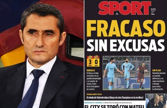 Barcelona boss Ernesto Valverde 'could be shown Nou Camp door' in summer — if Real Madrid win Champions League