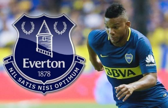 Everton want Frank Fabra after sending top spy to watch Boca Juniors and Colombia star in action