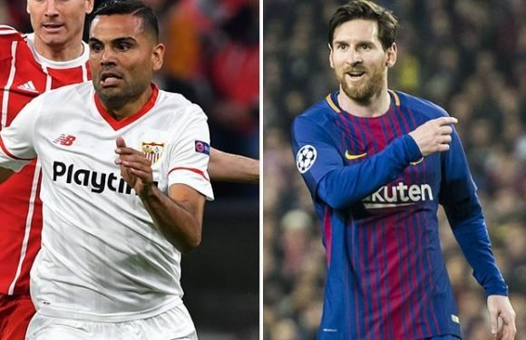 Lionel Messi's Argentina pal Gabriel Mercado admits he can't touch the Barcelona superstar when his Sevilla team try to stop him in the Copa del Rey final