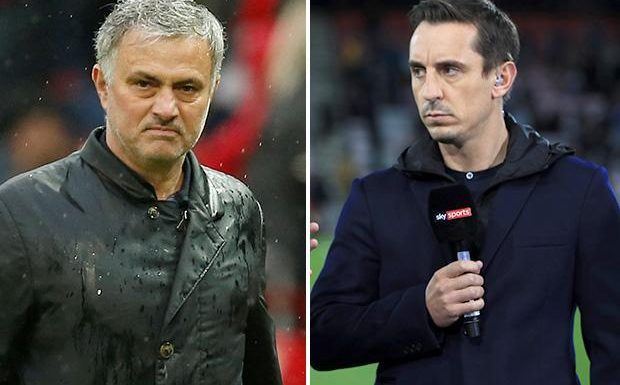Gary Neville rips into Manchester United and admits Jose Mourinho's comments worry him
