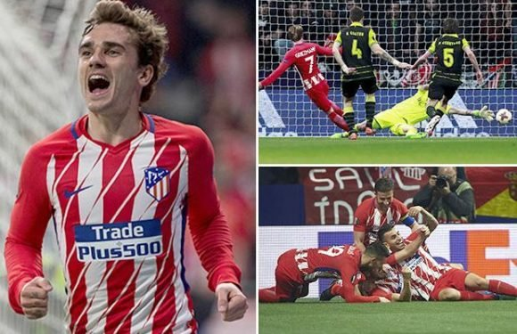 Atletico 2 Sporting Lisbon 0: Koke's goal after 23 seconds and Antoine Griezmann's strike put Spaniards in command of Europa League quarter-final