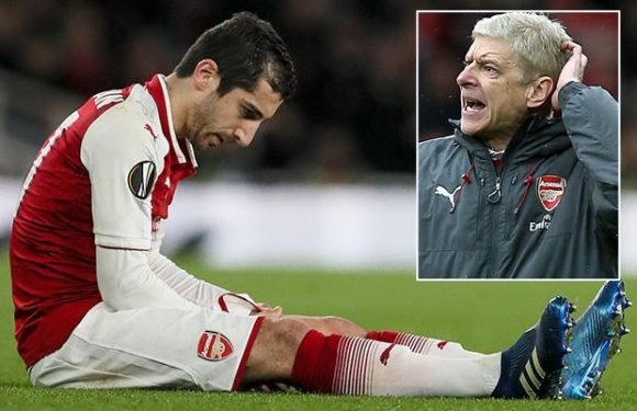 Arsenal ace Henrikh Mkhitaryan could return this season after suffering knee ligament damage, says Arsene Wenger