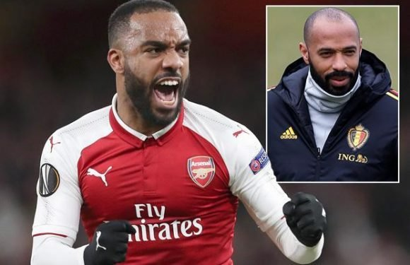 Arsenal striker Alexandre Lacazette getting regular pep talks from Thierry Henry in bid to settle