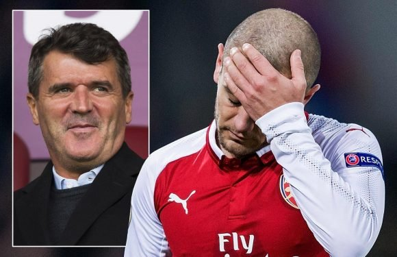 Roy Keane slams 'drifting' Jack Wilshere and rules out his chances of move to bigger club with Arsenal deal set to expire