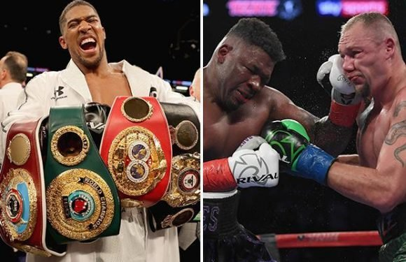 Anthony Joshua called out by loudmouth American Jarrell Miller after winning WBA eliminator