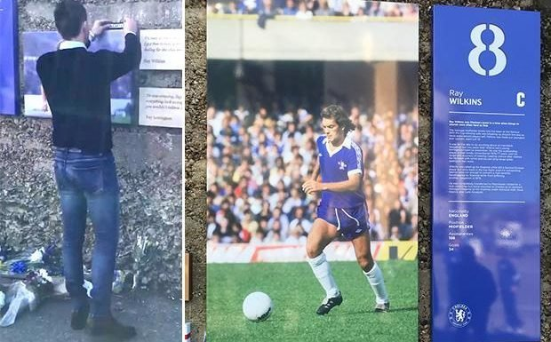 John Terry pays tribute to Ray Wilkins as Chelsea announce plans to honour former captain