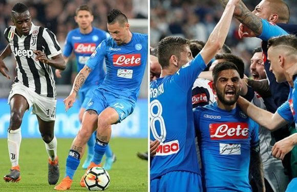 Juventus 0 Napoli 1: Kalidou Koulibaly scores last-gasp goal to blow Serie A title race wide open