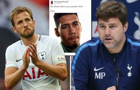 Tottenham boss Mauricio Pochettino slams 'embarrassing' FA after their tweet mocking Harry Kane