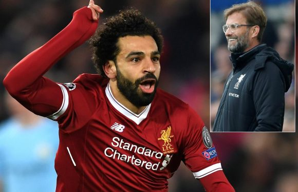 Liverpool star Mohamed Salah on track to return for Champions League second leg tie against Manchester City, says Jurgen Klopp