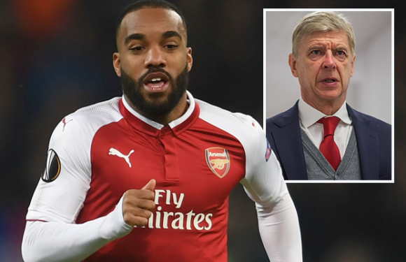 Arsenal ace Alexandre Lacazette wants to win Europa League so Arsene Wenger will stay