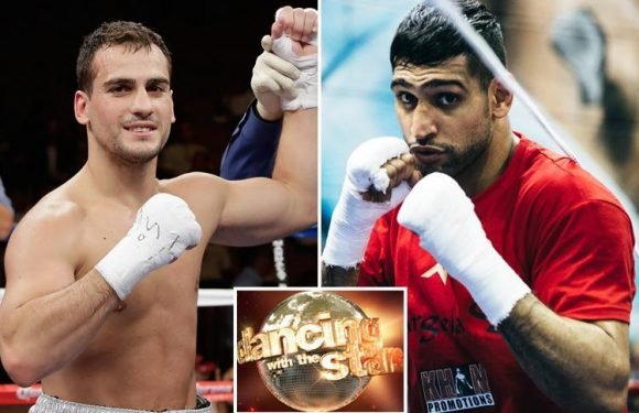 Amir Khan will be sent into retirement to appear on Strictly Come Dancing, as rival Phil Lo Greco vows to knock him out