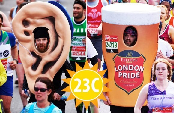 UK weather: London Marathon warn against fancy dress runners with temperatures set to be warmest in event's history