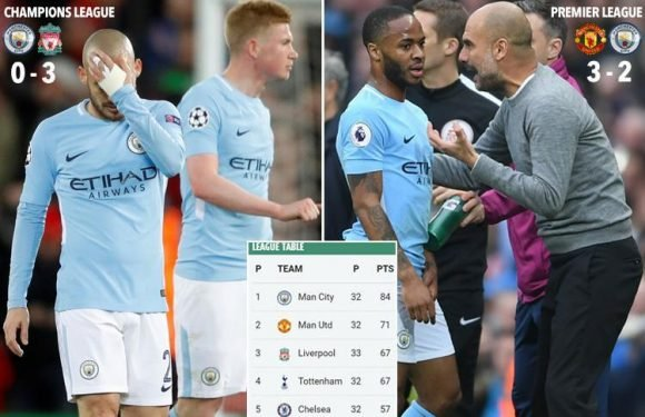 Manchester City have lost the fear factor, the party atmosphere has been deflated… lose tonight and people will say the season has finished on a low note